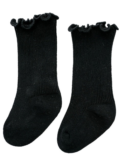 Frilly Socks - Black