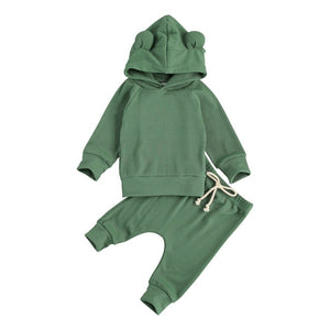 Baby Bear Tracksuit - Green