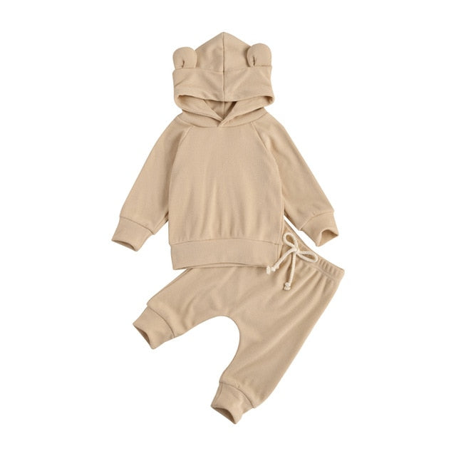 Baby Bear Tracksuit - Nude
