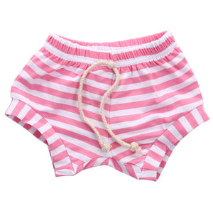 Striped Shorts - Pink