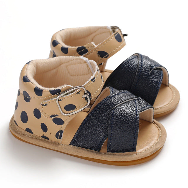 Cross Over Sandals - Leopard