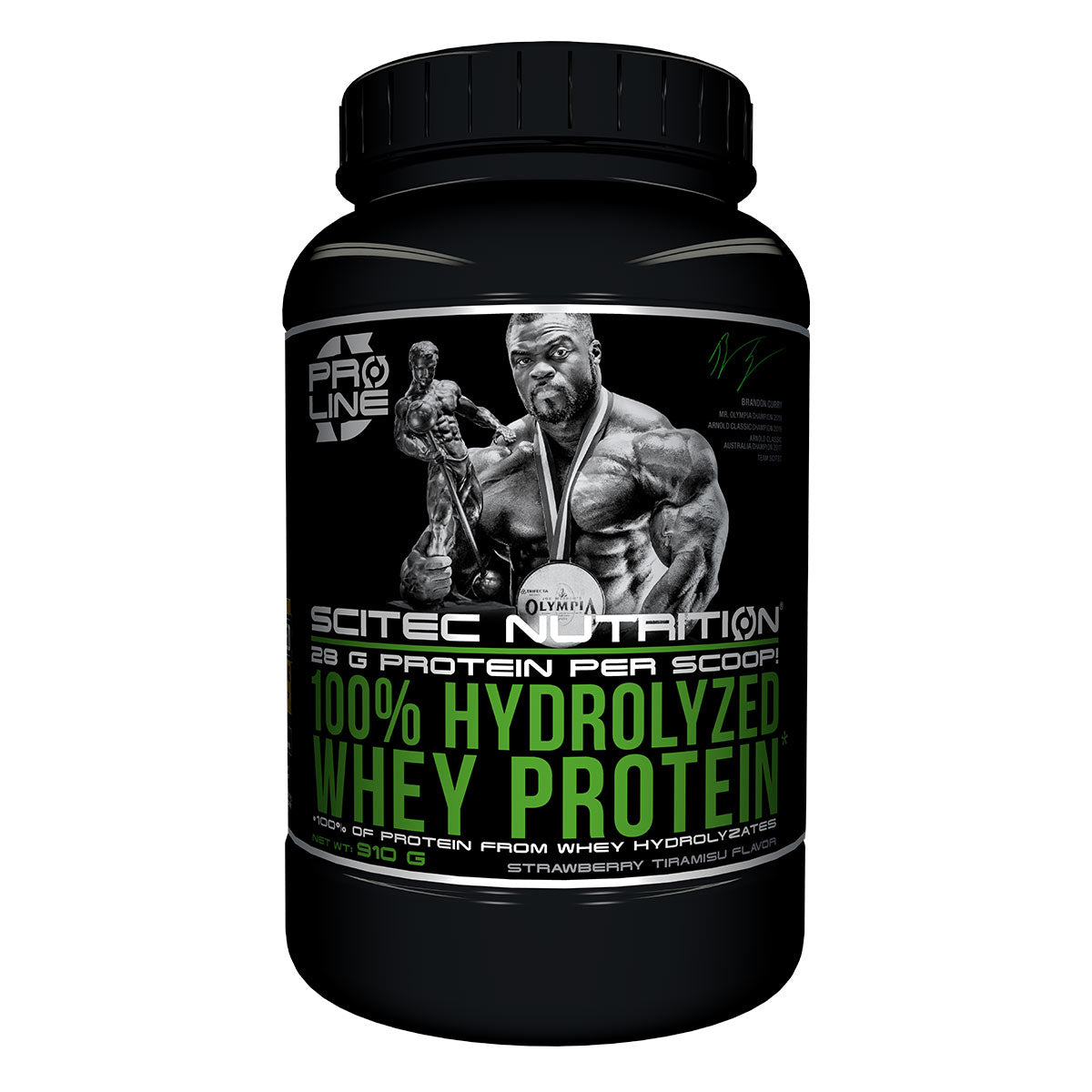 100% Hydrolyzed Whey Protein, 910g