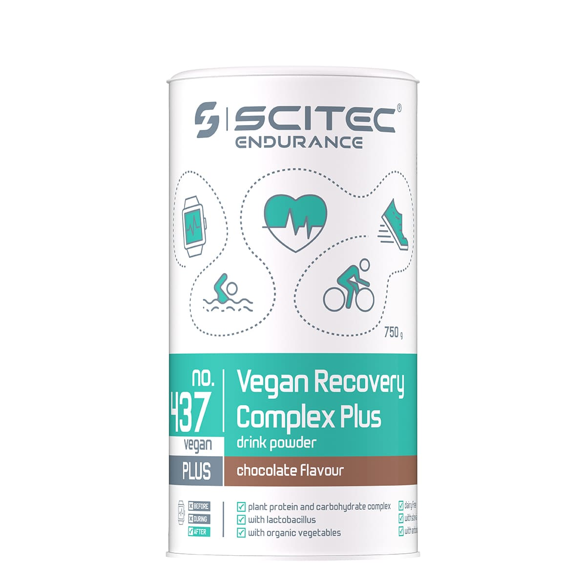 Vegan Recovery Complex Plus, 750g