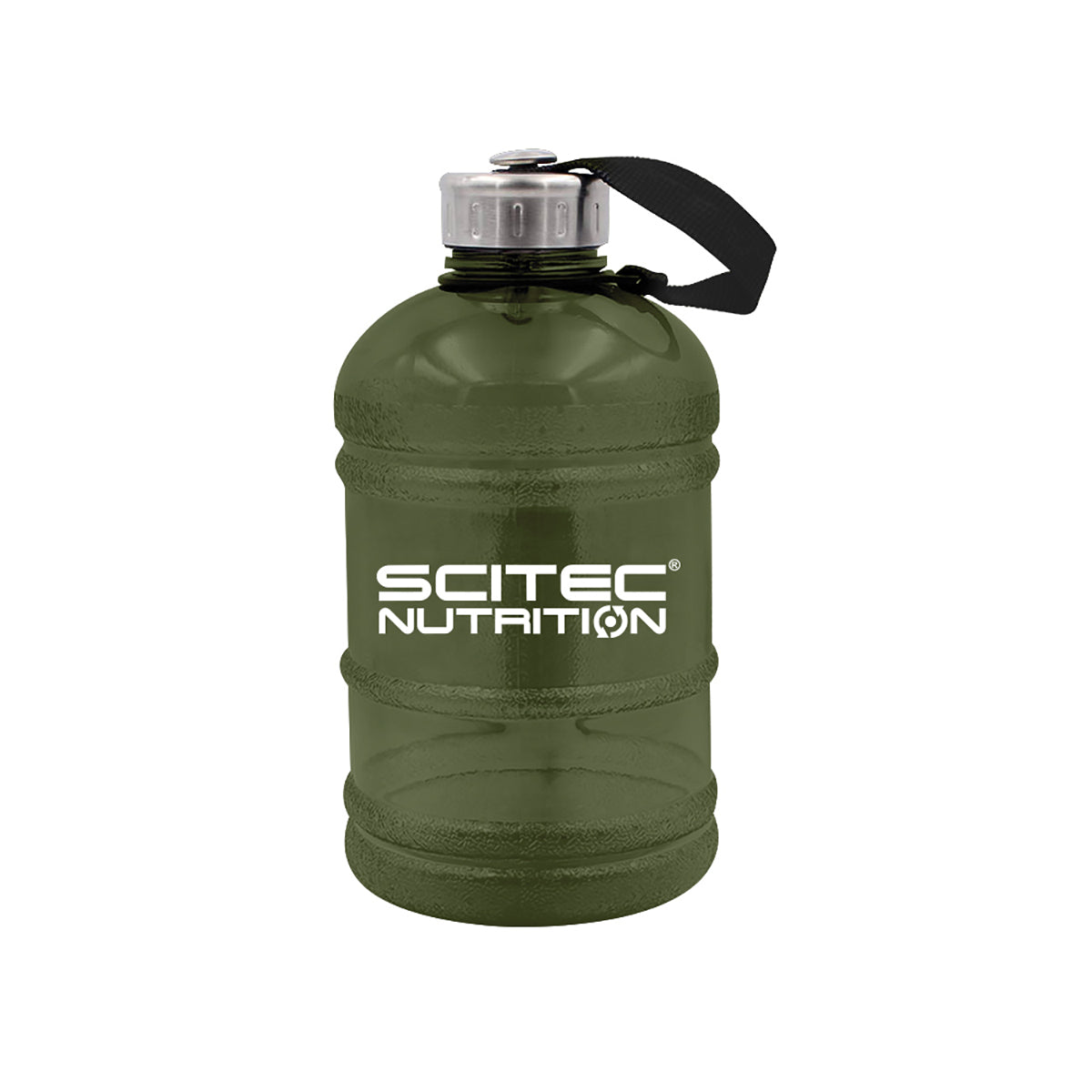 Scitec Water jug 1890ml, military zöld
