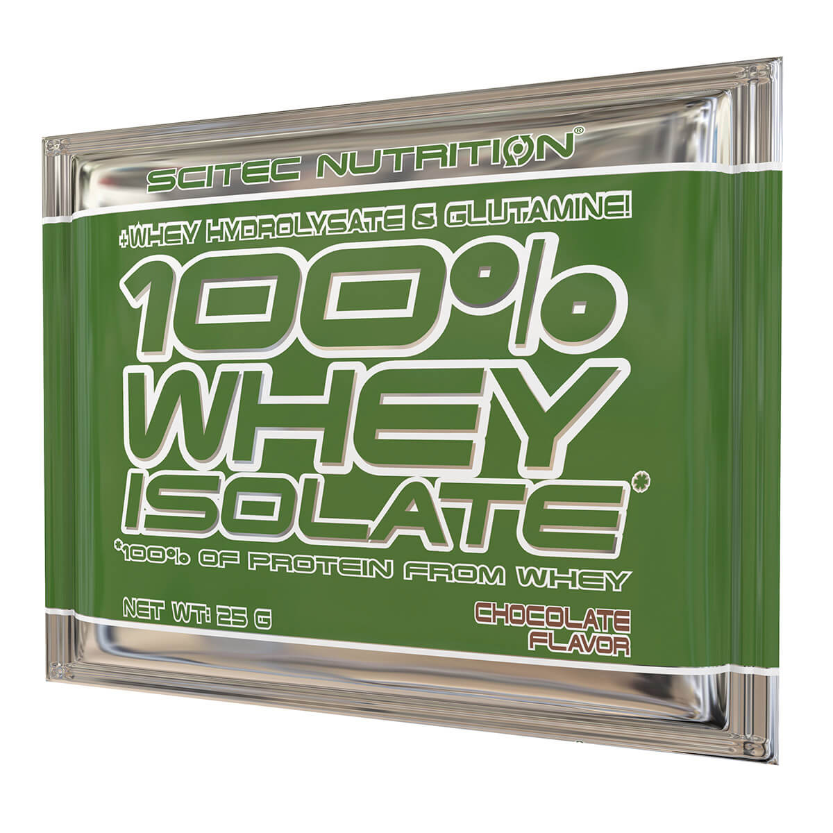 100% Whey Isolate, 25g tasak