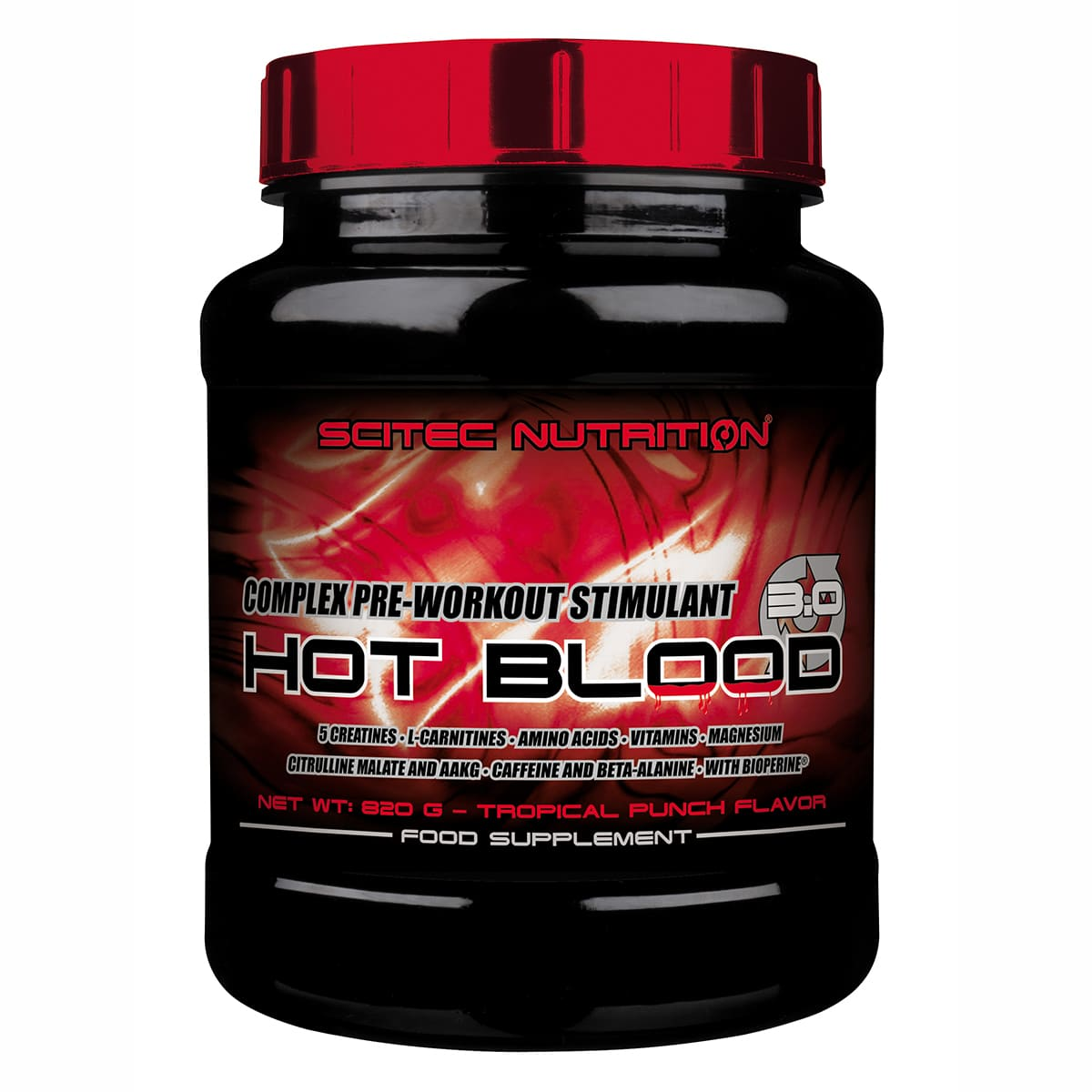 Hot Blood 3.0, 820g