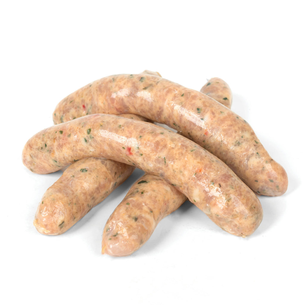 Hillside Chicken, Lemon & Oregano Sausages (Per/ Kg)