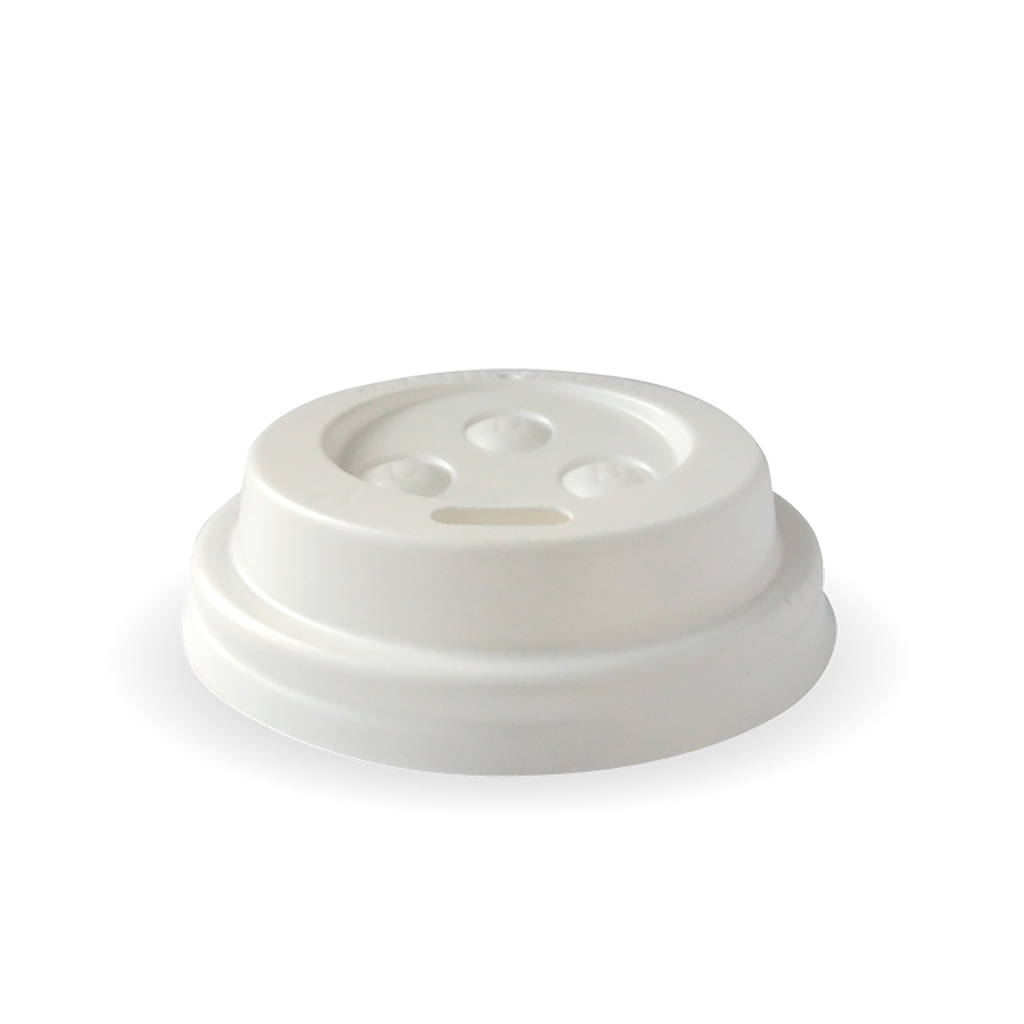 80mm Lid to Suit Hot BioCups (80mm) (50 Per/ pack)