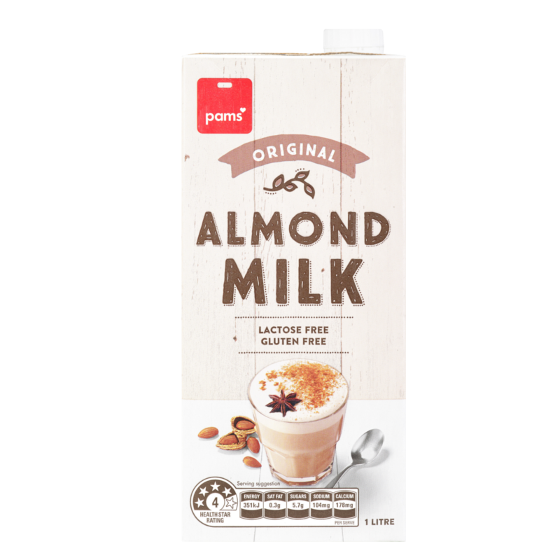 PAMS ALMOND MILK ORIGINAL 1L
