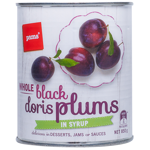 PAMS PLUMS BLACK DORIS 850G
