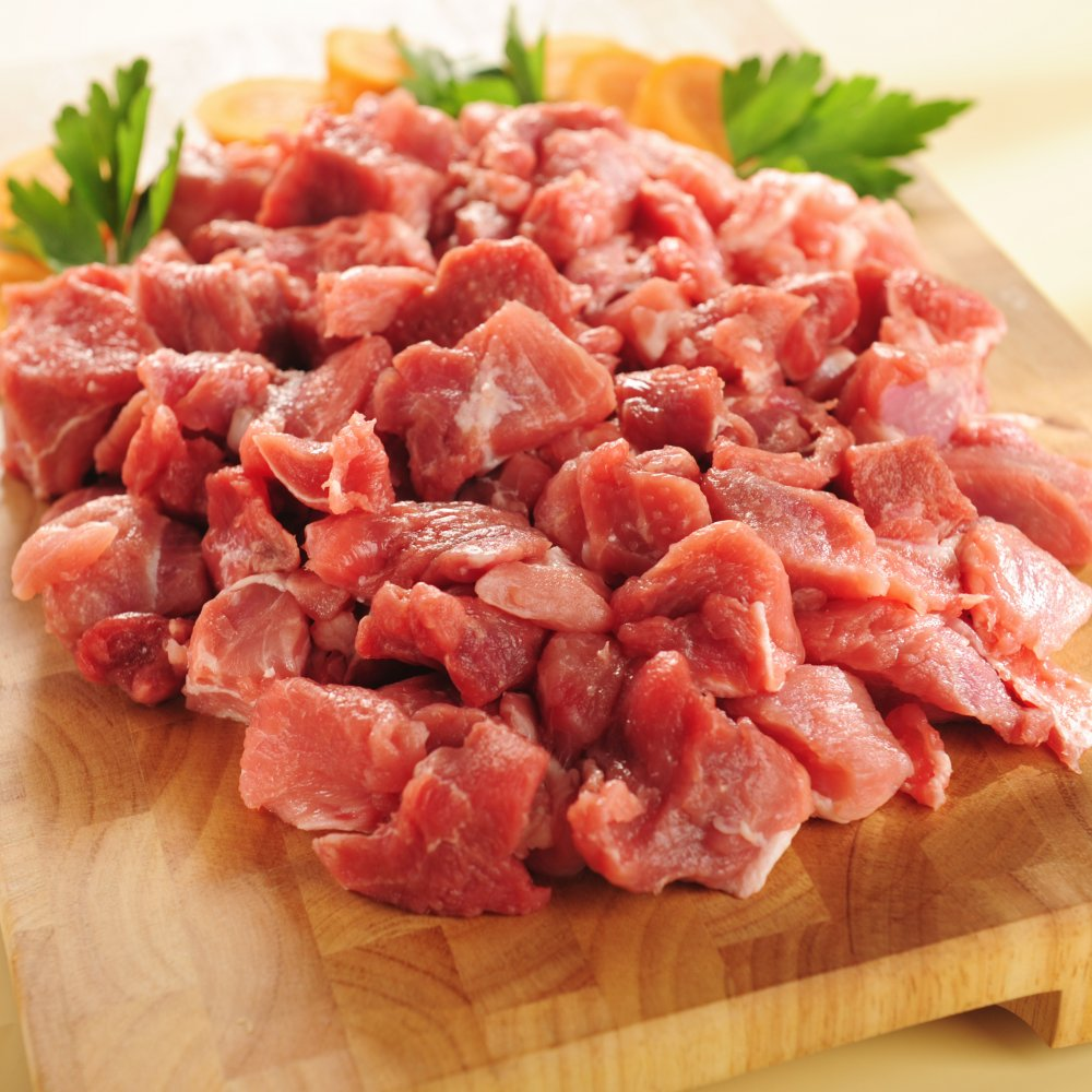 Hellaby Pork Diced (PER/ KG) 5-600gm