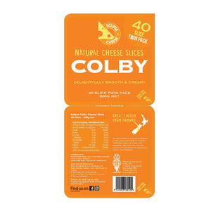 Colby Cheese Slices 800g