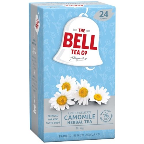 BELL HERBAL CHAMOMILE TAGLESS TBAGS 24s