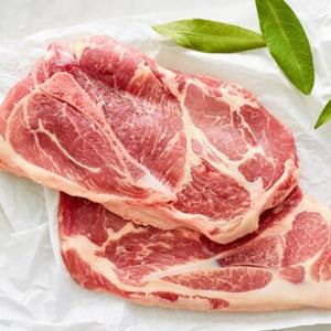 Hellaby Pork Shoulder Chops (Per/ Kg) 5-600gm