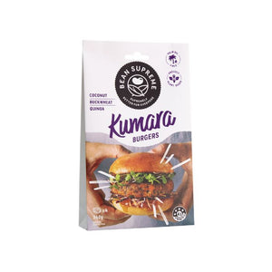 Bean Supreme - Kumara Vegan Burger Patties 4 x 340g