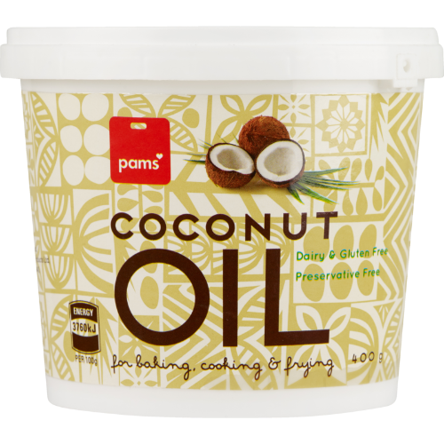 PAMS COCONUT OIL 400G