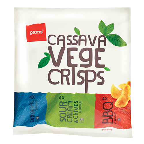 PAMS VEGE CRISPS MIXED MULTI 144G