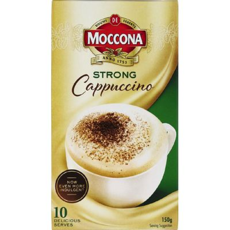 MOCCONA CAFE CLASSICS CAPPUCCINO (10X15G)