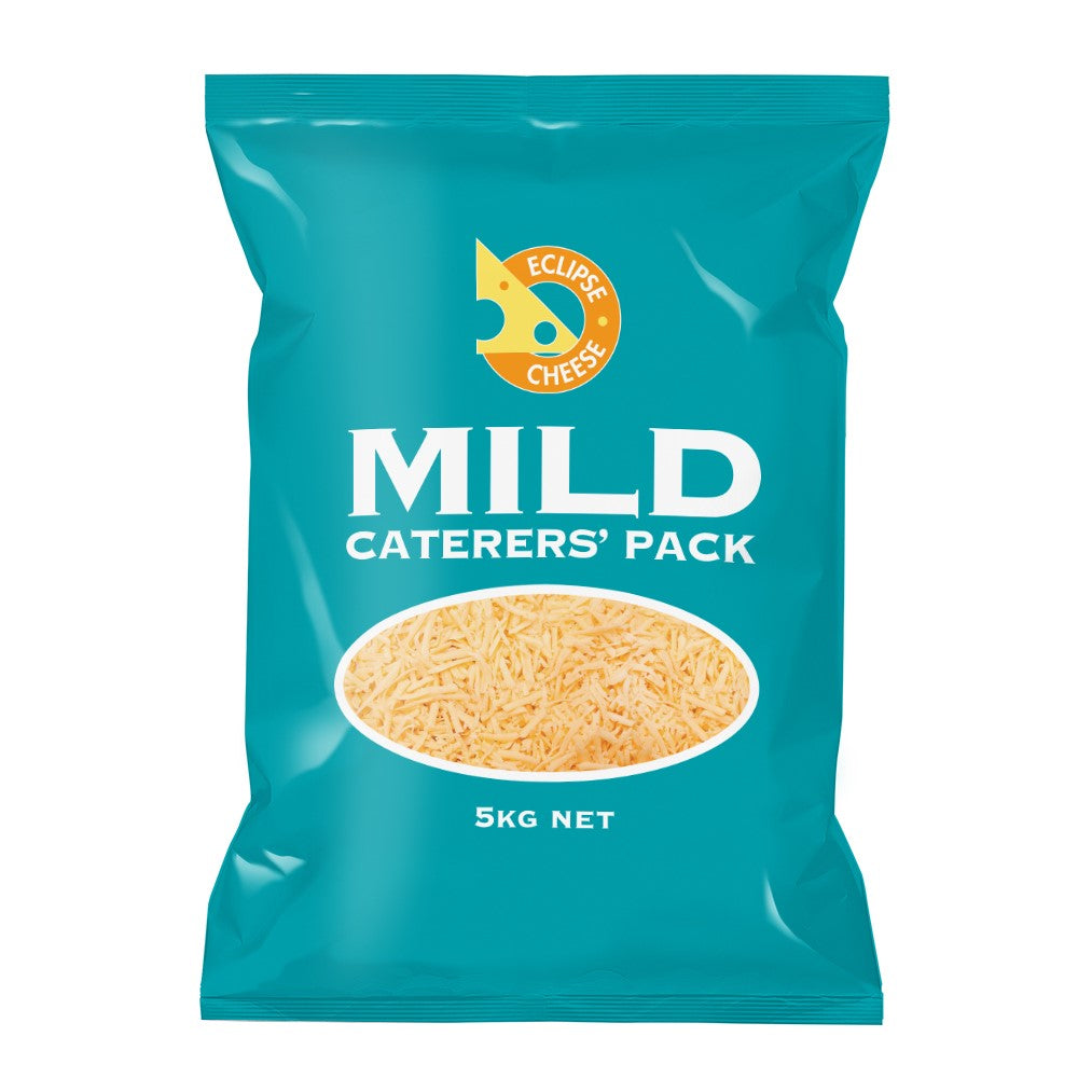 Grated Caterers Cheese 5kg Packet
