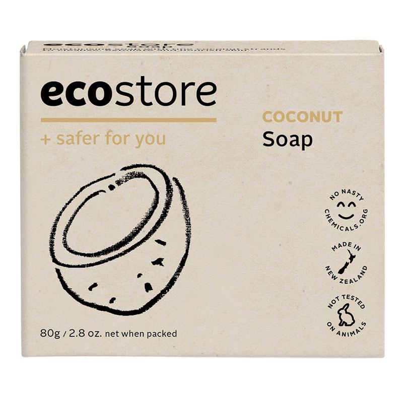 ECO STORE Boxed Coconut Soap 80G