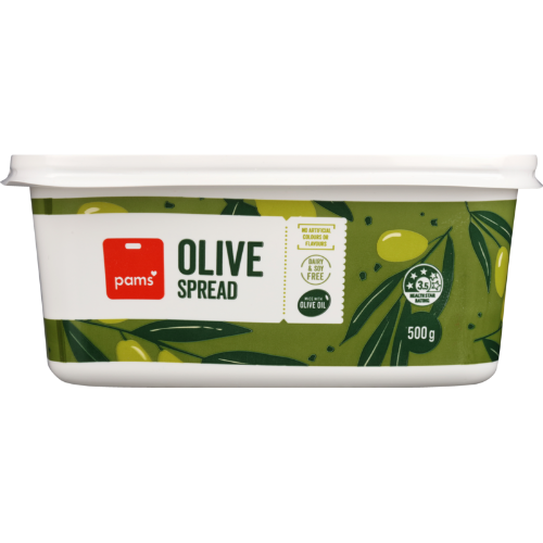 PAMS OLIVE TABLE SPREAD 500G