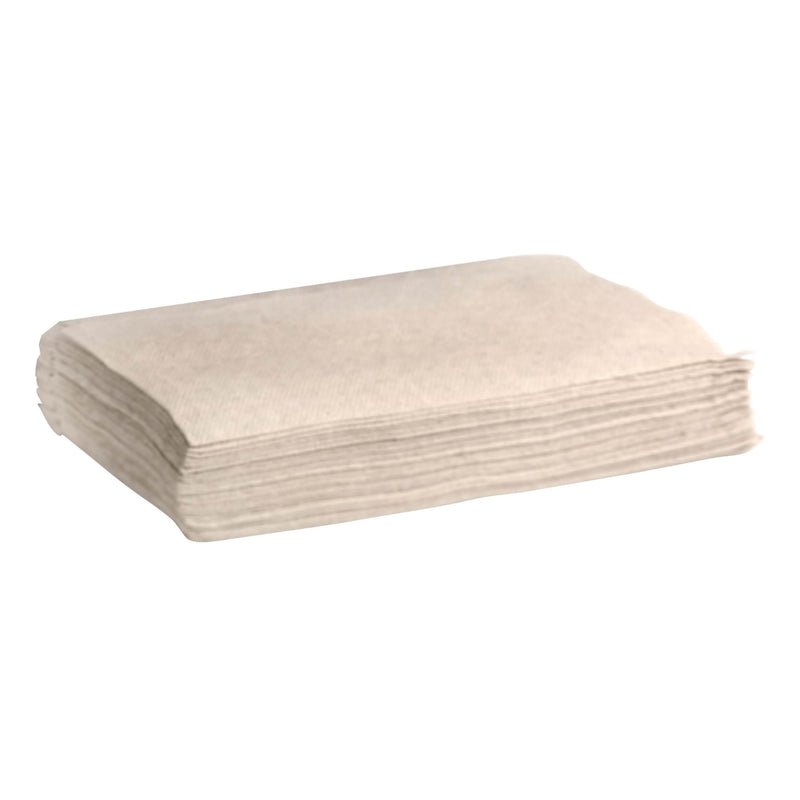 BioPak Natural 'Single Saver' 1ply Napkins (To Fit BioDispenser) (500 Per/ Pack)