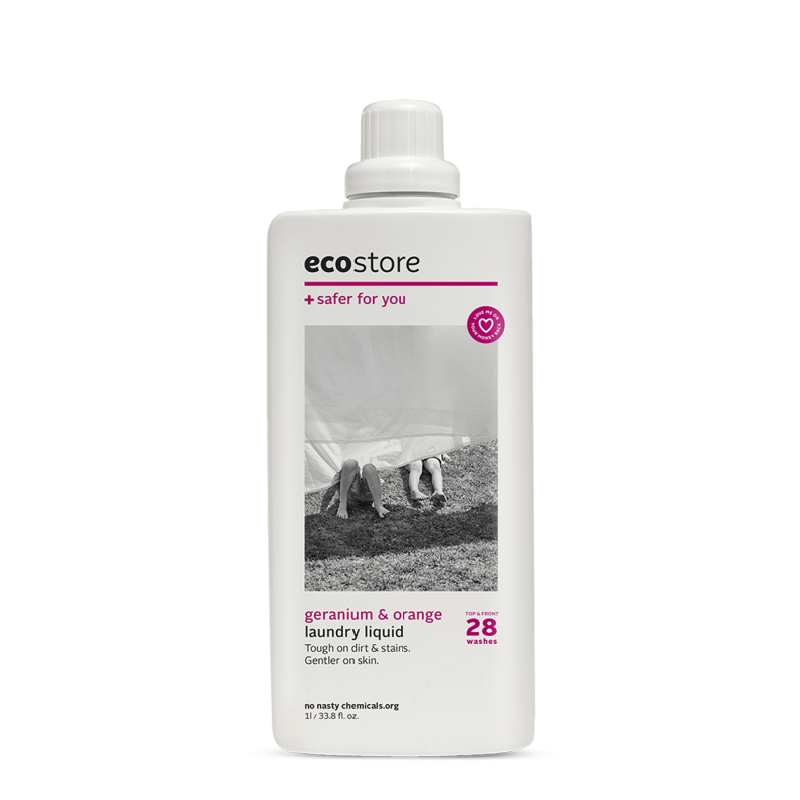ECO STORE Ultra Conc Laundry Liquid  Geranium & Orange 1L