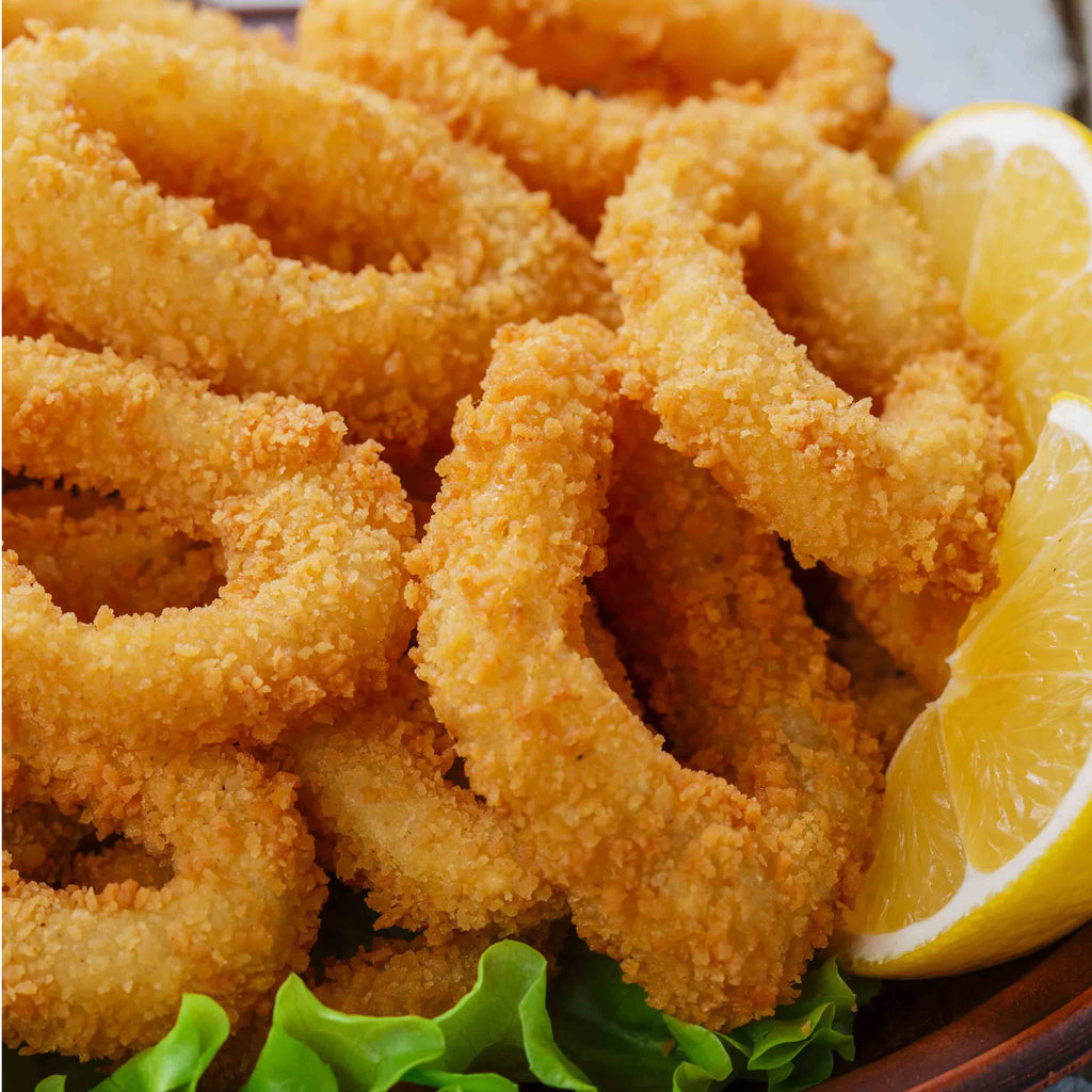 SM Crumbed Squid Rings (Real) 1kg