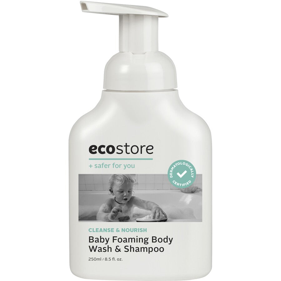 ECO STORE Baby Foaming Body Wash & Shampoo 250ML