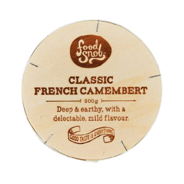 FOOD SNOB FRENCH CAMEMBERT 200g