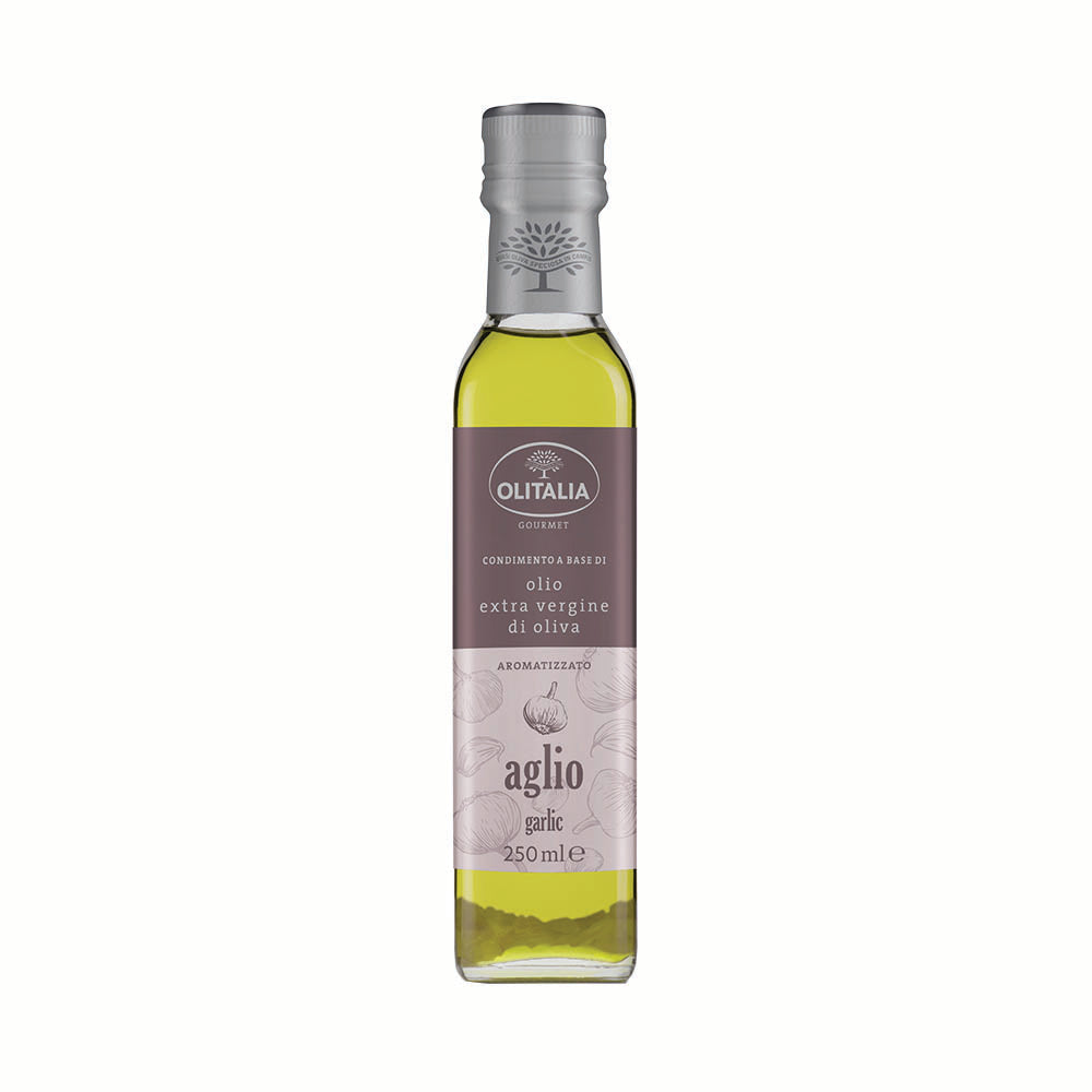 Olitalia Garlic Condiment Oil 250ml