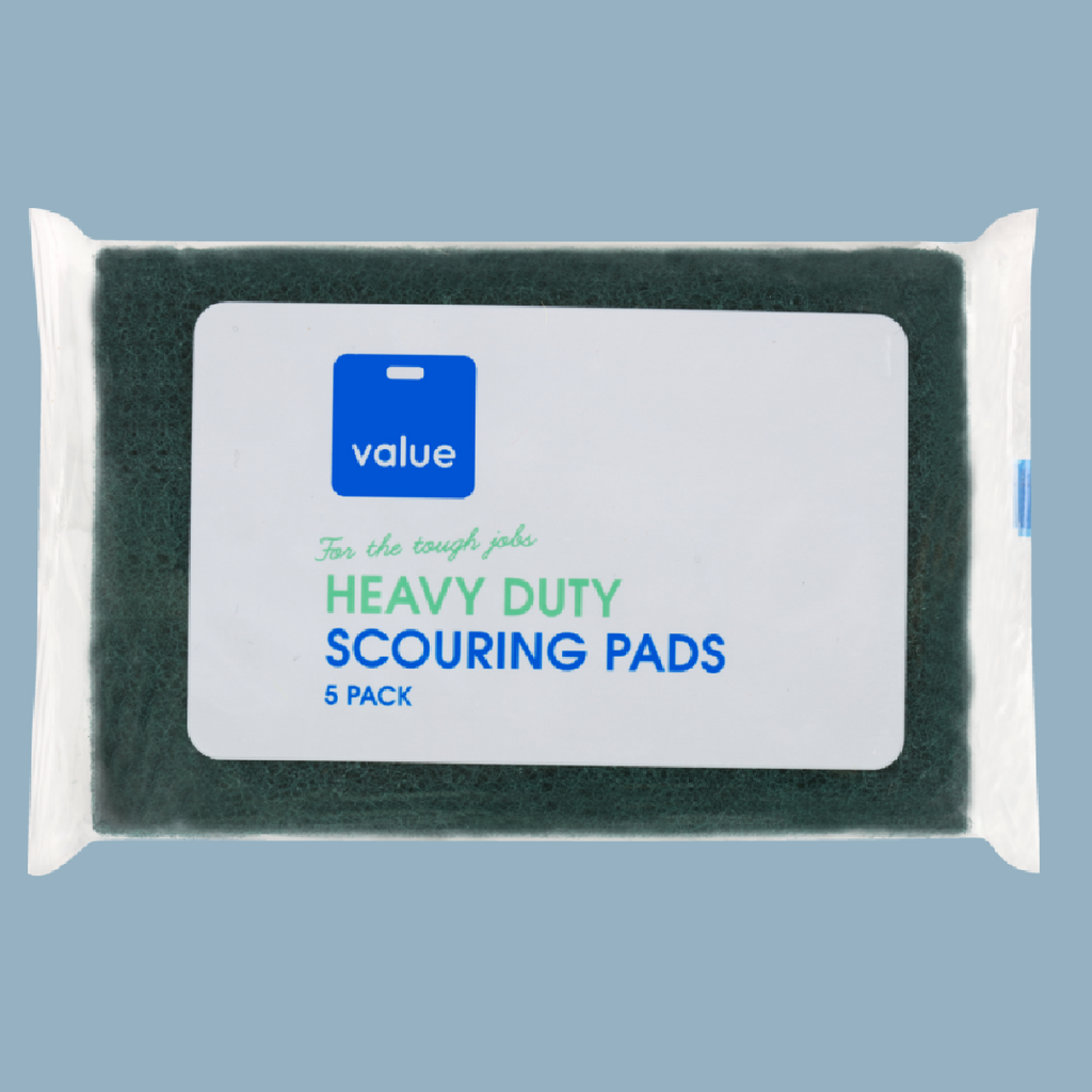 VALUE SCOURERS PADS 5EA