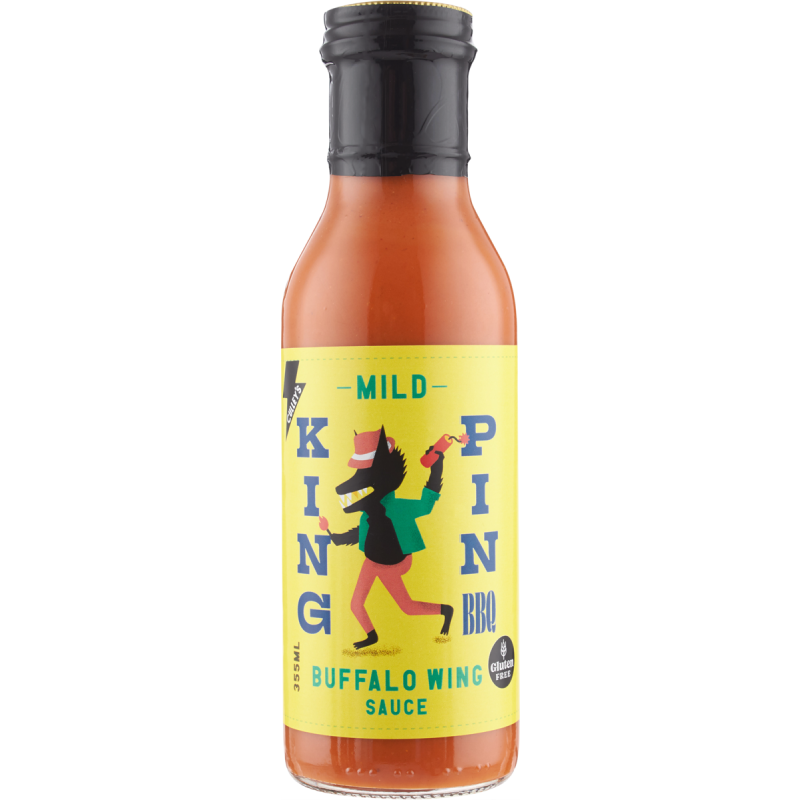 Culley's King Pin Buffalo Wing Sauce (Mild) 375ml