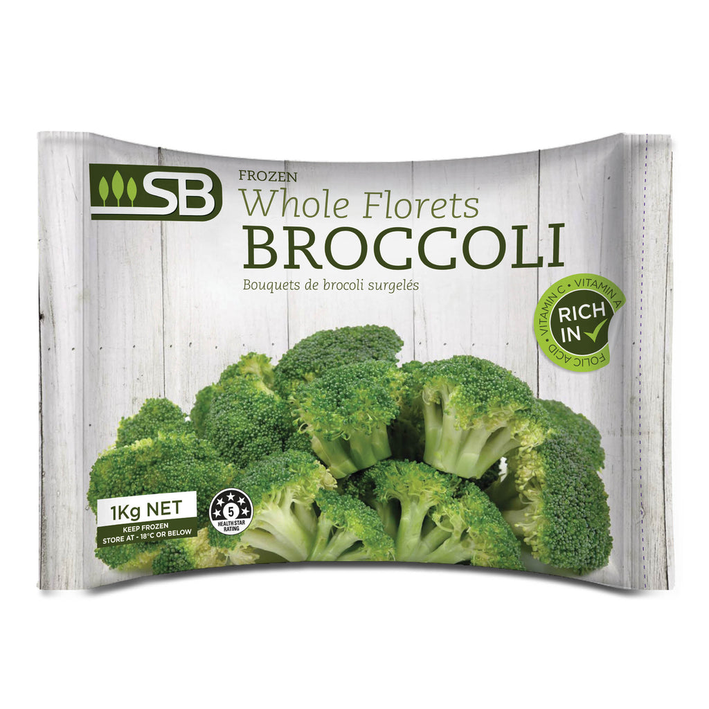SB Broccoli Florets (Frozen) 1kg