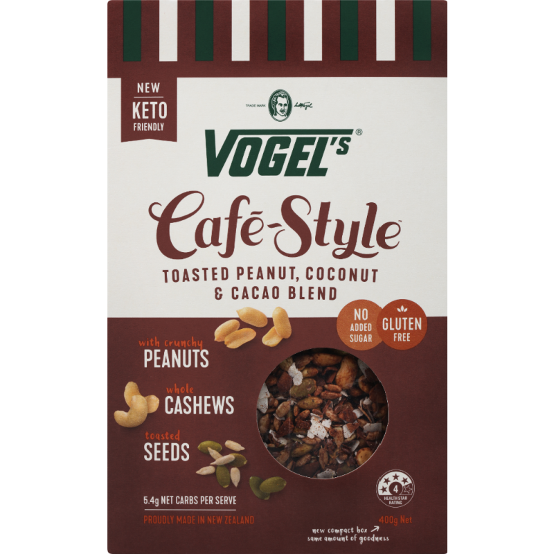Vogel's CS Peanut, Coconut & Cacao GF 400gm