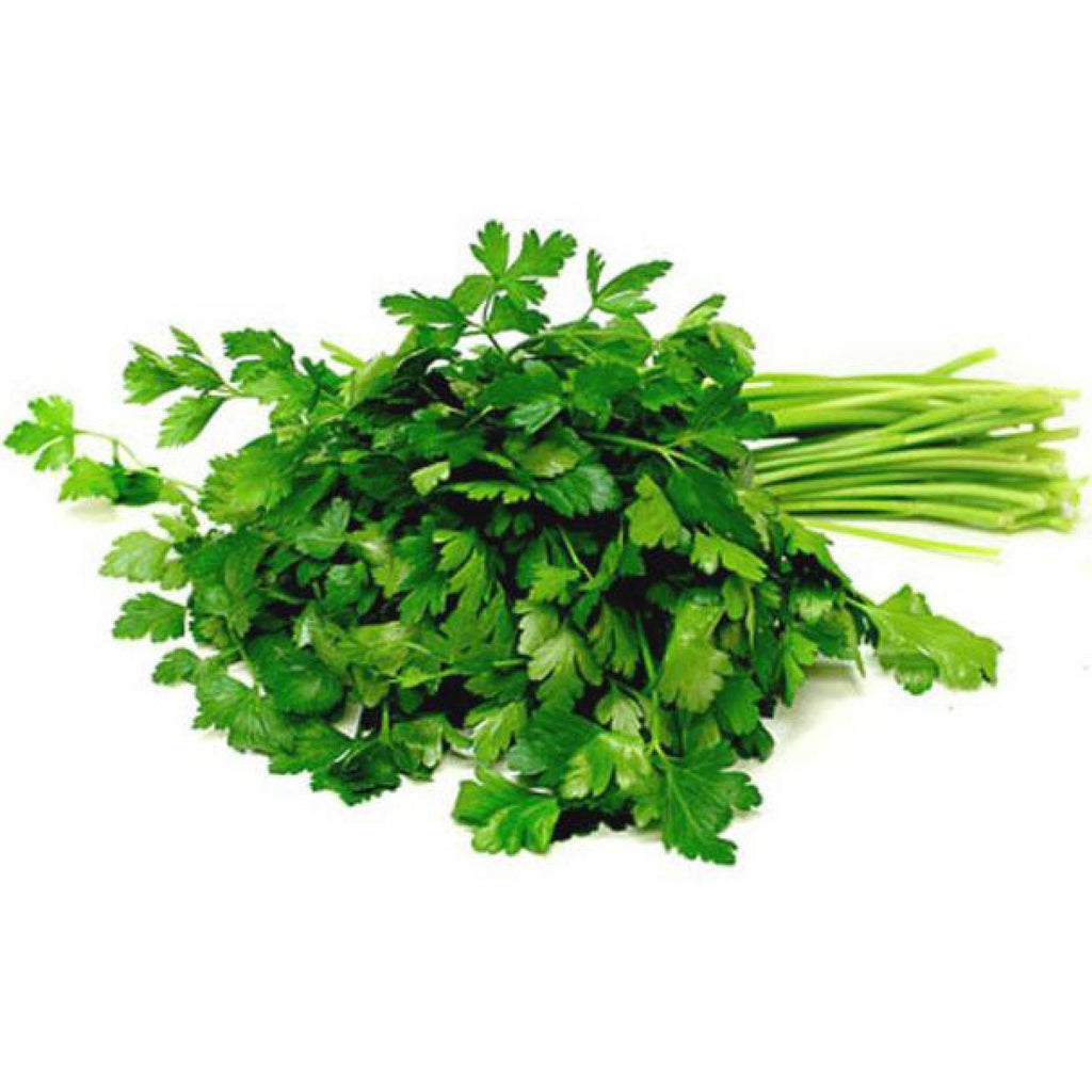 Teouma Valley Farms Flat Leaf Parsley (Italian) (100g Bunch)