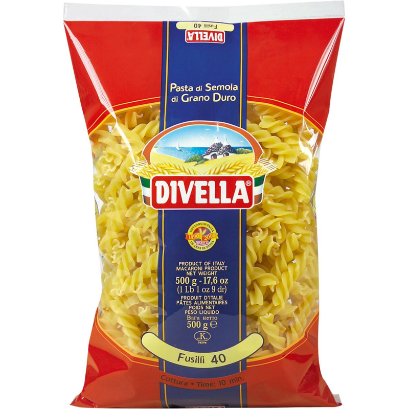 Fusilli (no.40)  500gm