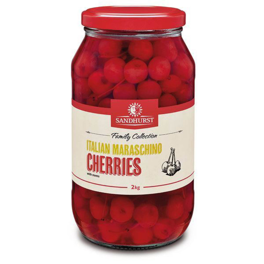 Sandhurst Maraschino Cherries 2kg