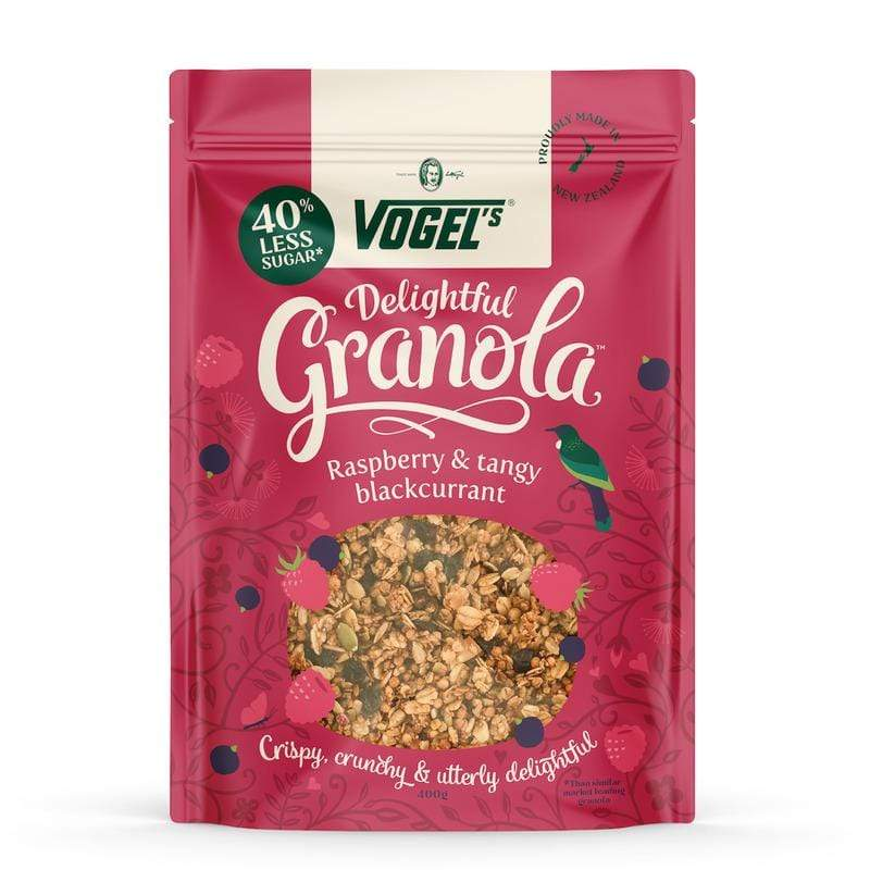 Vogel's DLF Raspberry & Blackcurrant Granola 400gm