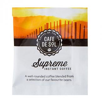 Cafe De Sol Supreme Coffee Sachets (500 Per/ CTN)