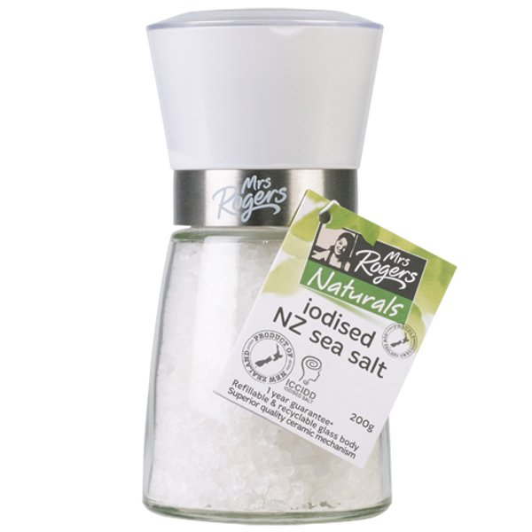 Iodised Sea Salt 200g