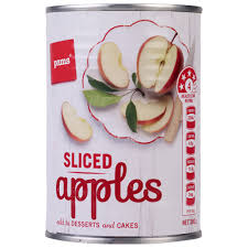 PAMS APPLES SLICED 380G