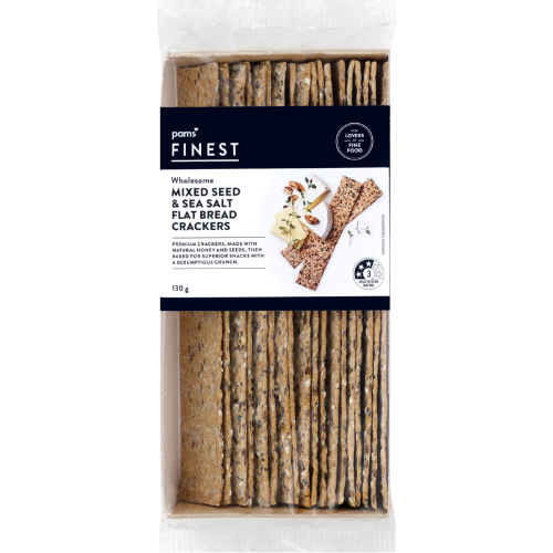 PAMS FINEST FLAT BREAD SEEDS 130G