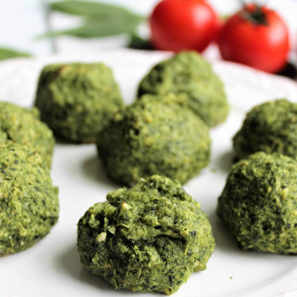 Spinach Leaf Ball (Frozen) 1kg