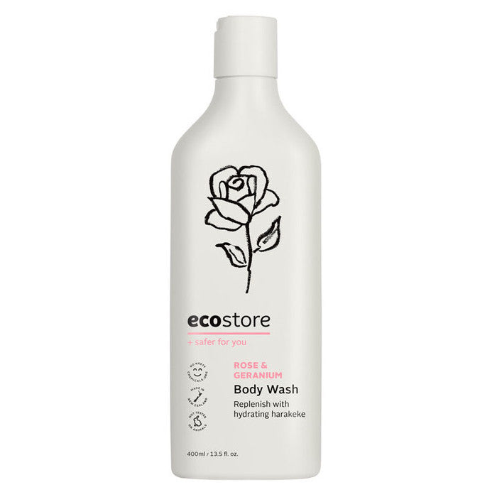 ECO STORE Rose & Geranium Body Wash 400ML