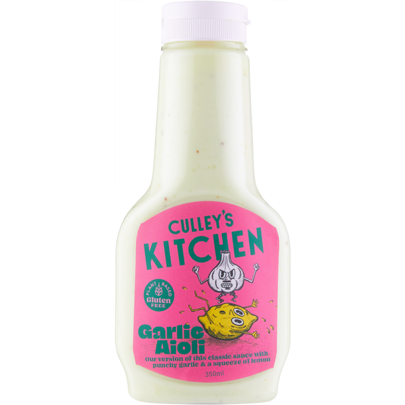 Culley's Kitchen Garlic Aioli 350ml