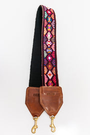 Maya Woven and Hand Embroidered Bag Strap