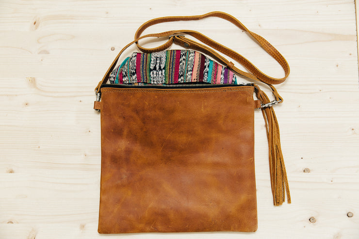 The Crossbody- Solid Whisky