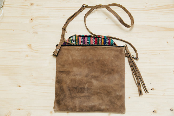 The Crossbody- Solid Mocca Java