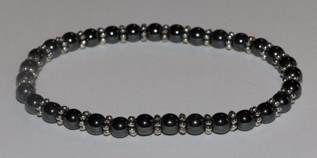 Artist Created - Authentic Hematite Stone Bracelet